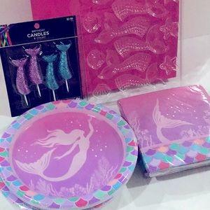Mermaid Birthday bundle 🧜♀️ 6 PCs